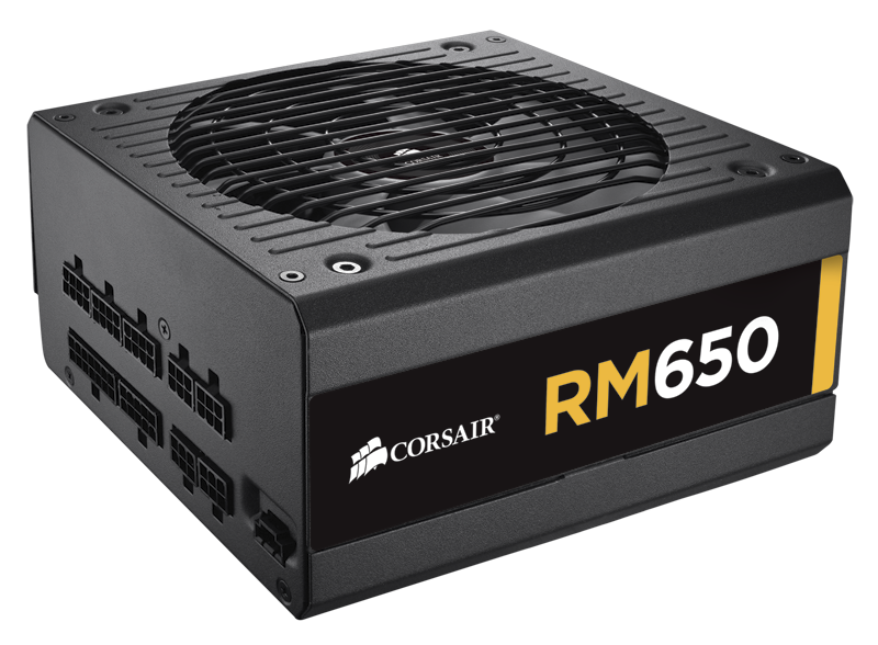 650 Watts Corsair RM650X RM Series 80 Plus Gold