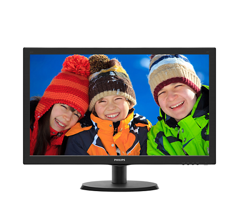 22 p Philips 223V5LHSB2 1920X1080 LED 10M:1 5ms VGA HDMI