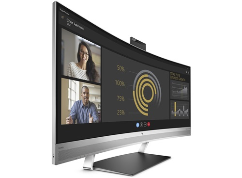 34 p HP EliteDisplay S340C Curved 3440X1440 6 ms HDMI DP MVA